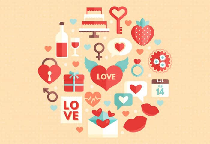 Free Valentines Day Vector Elements