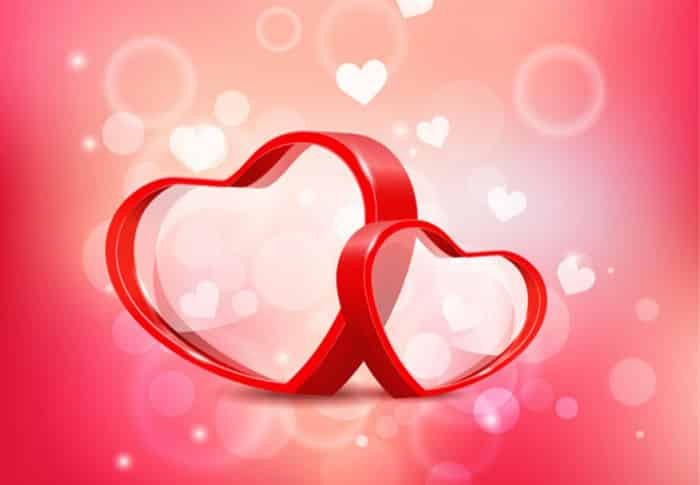 Fun Free Valentines Day Vector Backgrounds