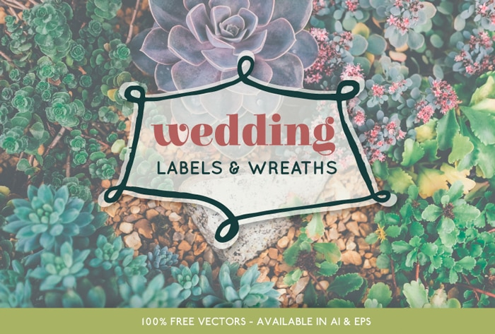 Free Vector Wedding Pack for Elegant Designs