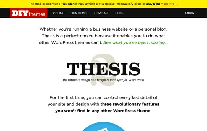 Thesis - WordPress Theme Development Frameworks