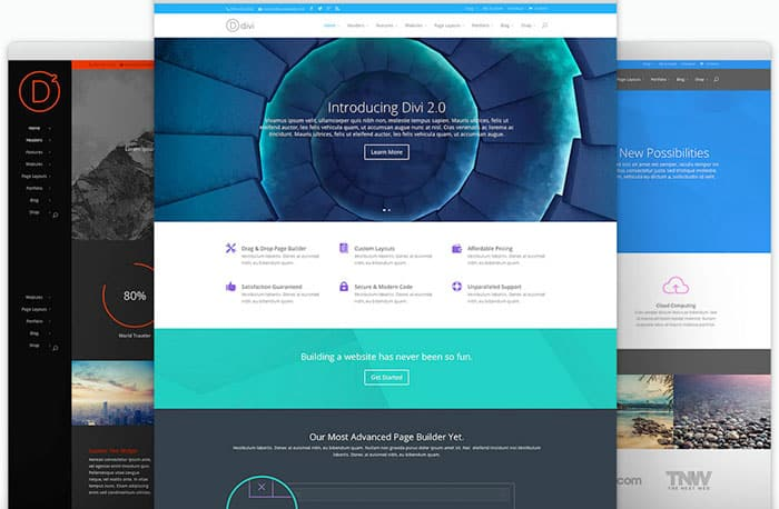 Divi WordPress theme makers