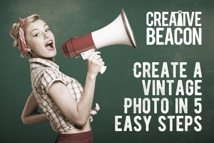 A Simple Trick to Make a Vintage Photo With Photoshop
