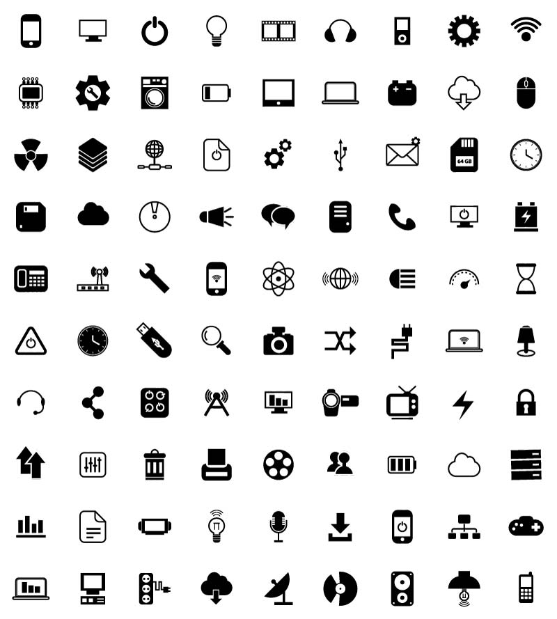 Free Technology Icons From Vector Portal - Creative Beacon: creativebeacon.com/free-technology-icons-from-vector-portal