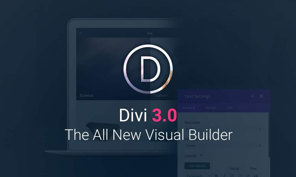 Divi WordPress Theme: Now With a Smooth Front End Builder