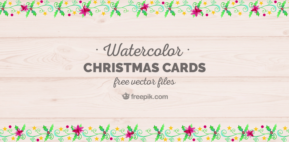 Free Christmas Card Design Pack