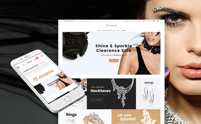 - Jewelry & Accessories Store Responsive WooCommerce Theme