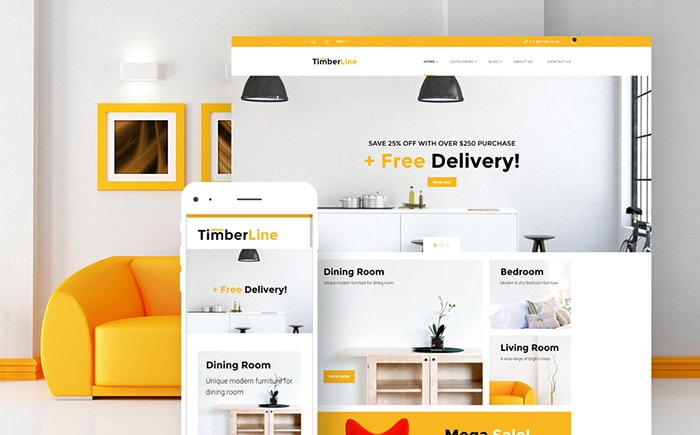 ne - Furniture Store WooCommerce Theme