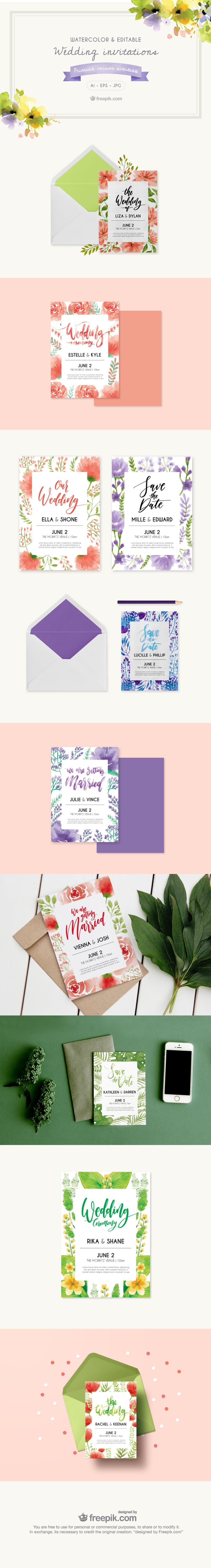 Free Wedding Invitation Templates | Creative Beacon