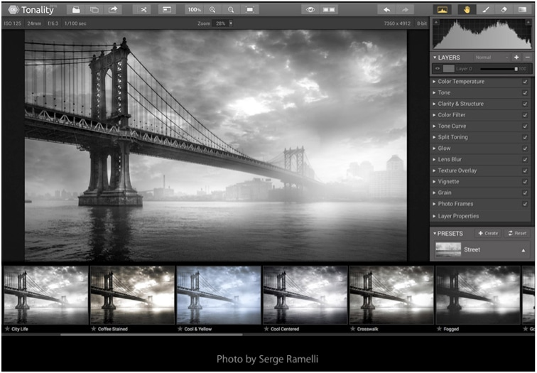 black & White photoshop plugin by Macphun