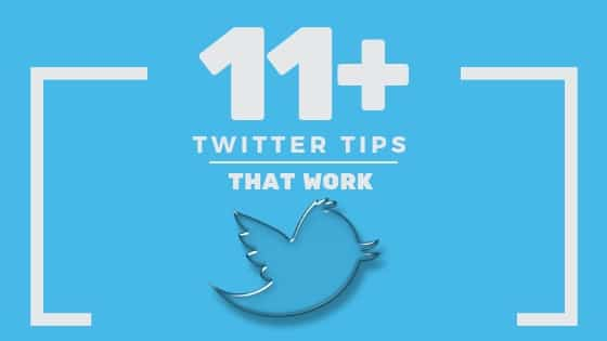 twitter tips that work