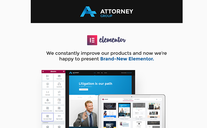 Attorney Group - Law Firm WordPress Theme WordPress Theme