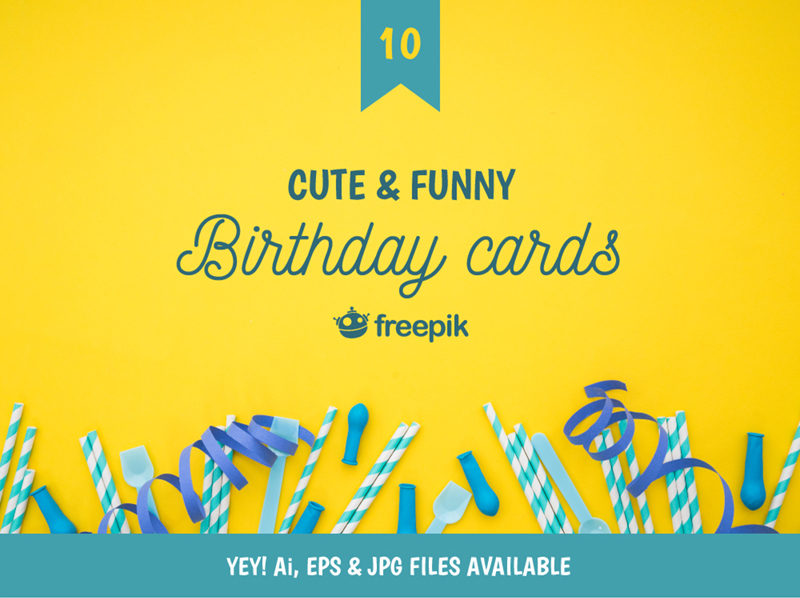 Free Download Birthday Card Designs AI EPS JPG