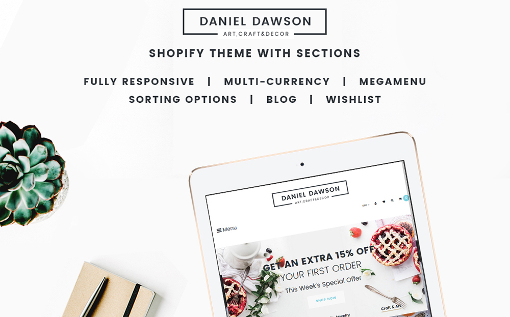 Home Decor Responsive Shopify Theme
