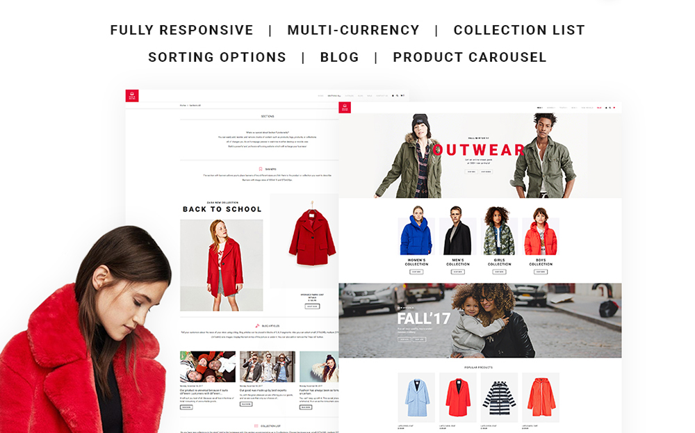 Outdoor Clothing Shopify Theme