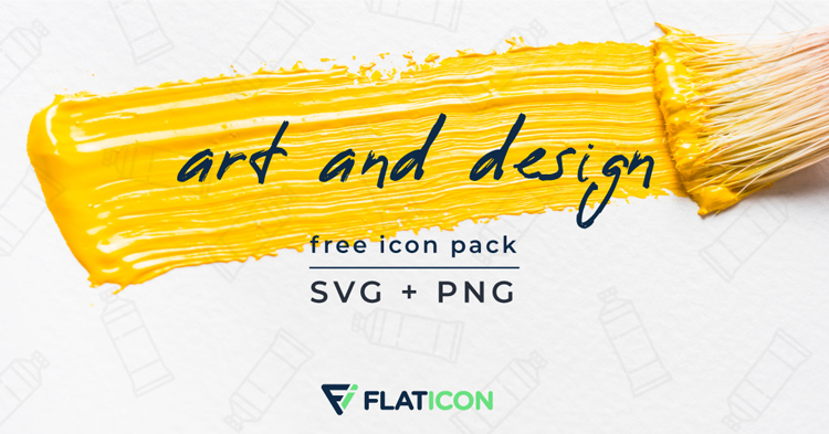 Free Art and Design Icons (PNG + SVG)