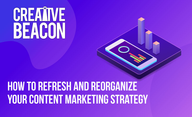 How to Refresh and Reorganize Your Content Marketing Strategy
