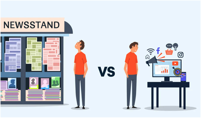 comparison between digital advertising and digital advertising